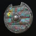 3d Viking Shield (4 texture sets) model buy - render