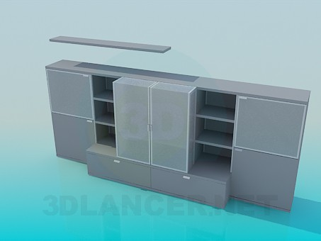 3d model Low cabinets - preview