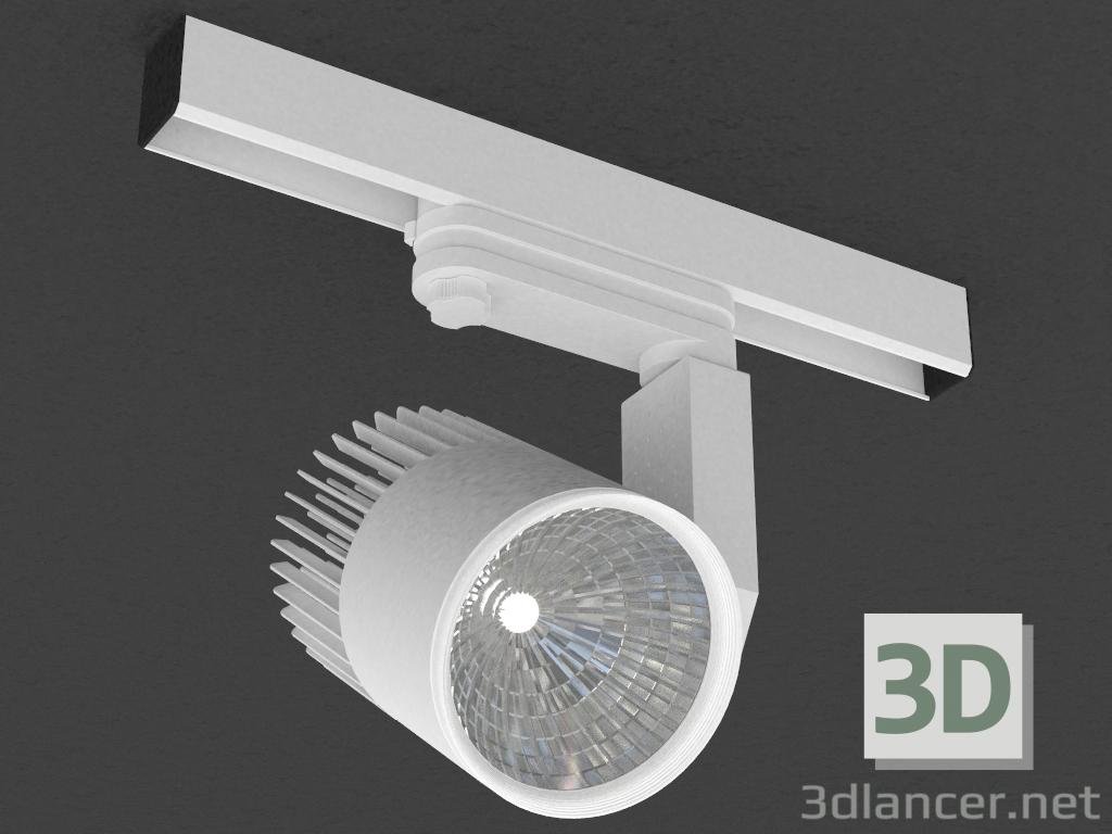 3 डी मॉडल तीन चरण बस के लिए एलईडी दीपक (DL18761_01 ट्रैक डब्ल्यू 12W) - पूर्वावलोकन