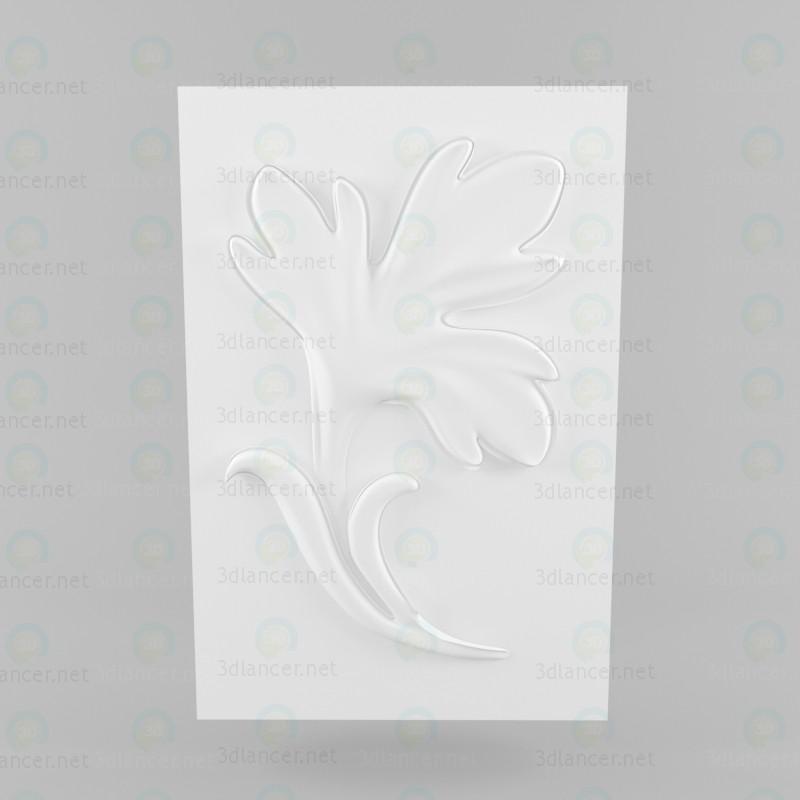 Yeso roseta 3D modelo Compro - render
