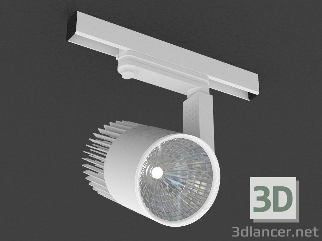 3 डी मॉडल तीन चरण बस के लिए एलईडी दीपक (DL18761_01 ट्रैक डब्ल्यू 30W) - पूर्वावलोकन