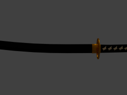 _1ex0_ Katana - LowPoly Version