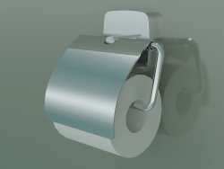 Toilet roll holder with lid (41508000)