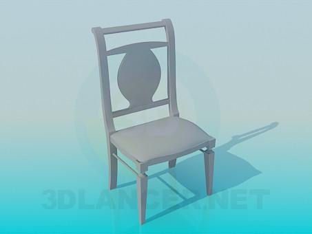 Modelo 3d Cadeira elegante - preview