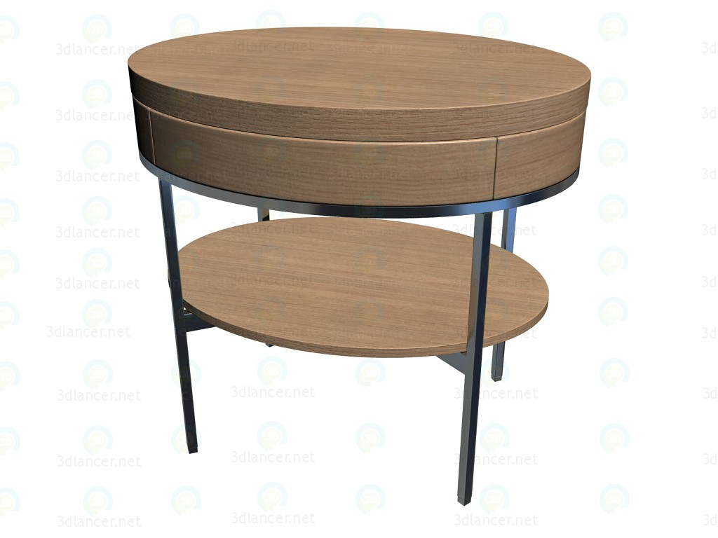 3d model coffee table 9623 b b italia collection ebe apta for Coffee table 3d model
