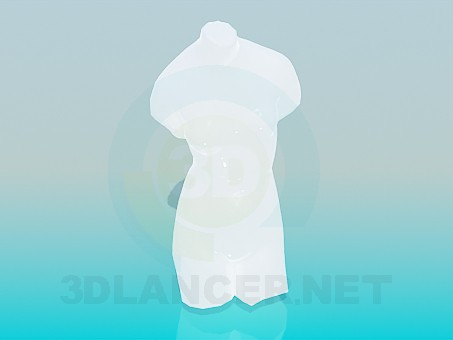 descarga gratuita de 3D modelado modelo estatua de una mujer