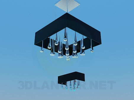 3d model Chandelier and sconces complete - preview