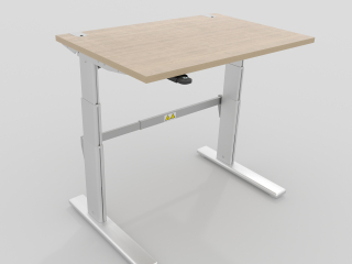 Office table with lifting mechanism