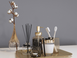 Set decorativo da bagno