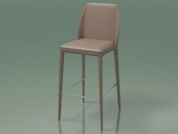 Cadeira de meia barra Marco (111942, marrom acinzentado)