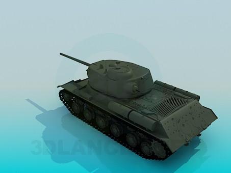 3d model ES-1 - vista previa