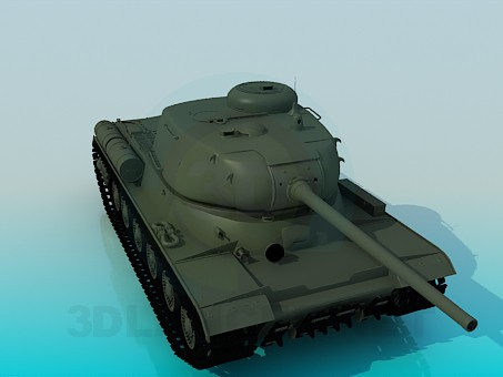 3d model IS-1 - preview