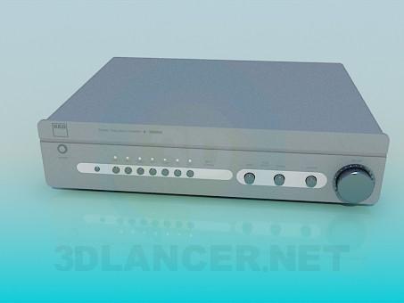 3d model Amplifier - preview