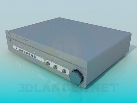 modelo 3D Amplificador - escuchar