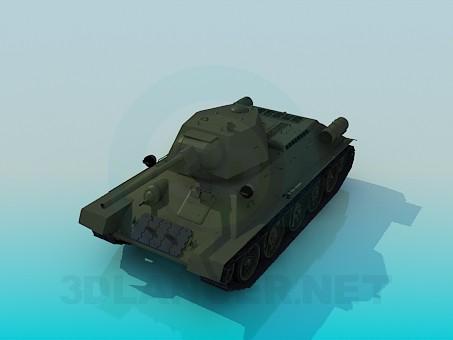 3d модель Т-34 – превью