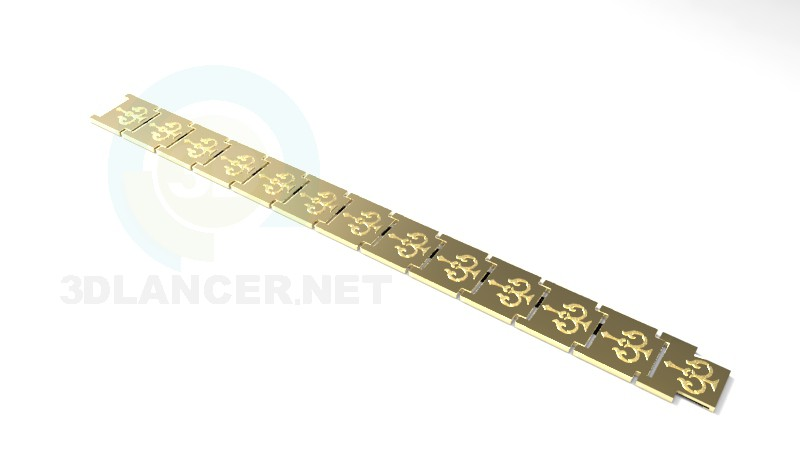 3d model bracelet - preview