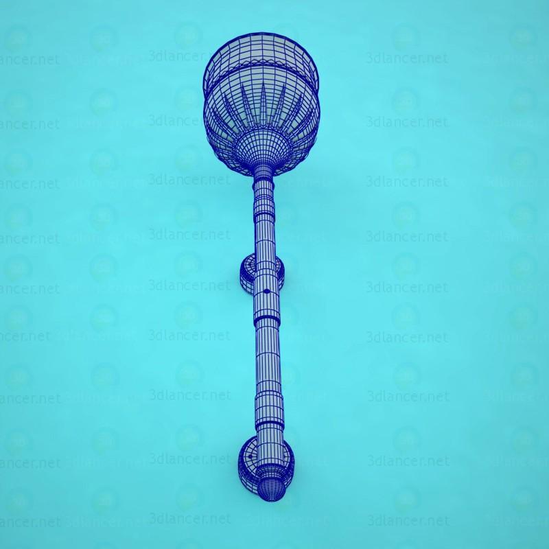 Lámpara de pared 3D modelo Compro - render