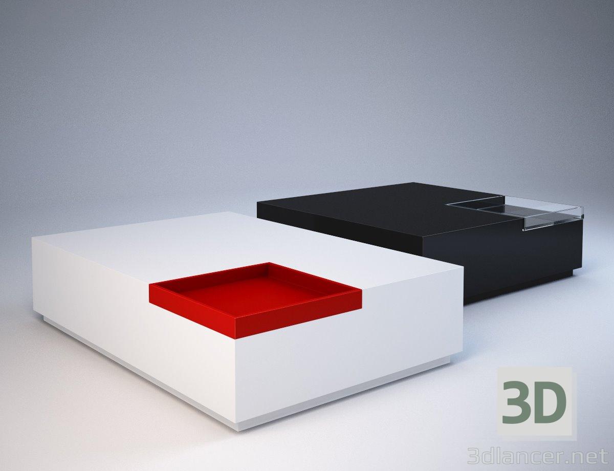 3d модель Сучасний стіл – превью