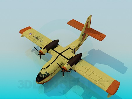 3d model Canadair - preview
