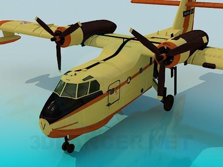 3d модель Canadair – превью
