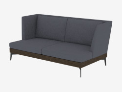 Çift kişilik kanepe düz Div 190