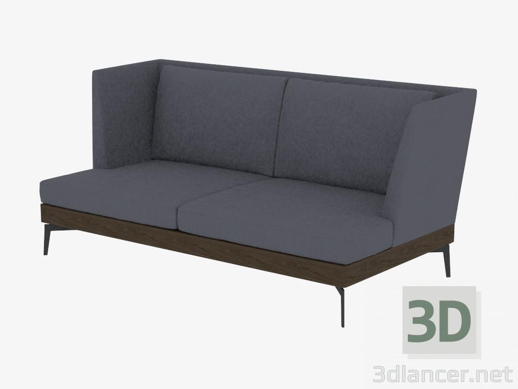 3d modell doppel sofa gerade div 190 vom hersteller flexform feel good id 18915. Black Bedroom Furniture Sets. Home Design Ideas