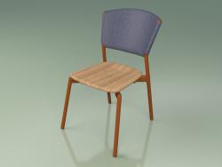 Chair 020 (Metal Rust, Blue)