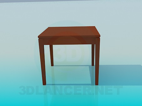 3d model A small table - preview