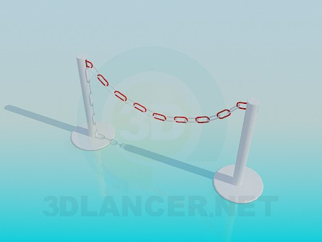 3d model Barrier - preview