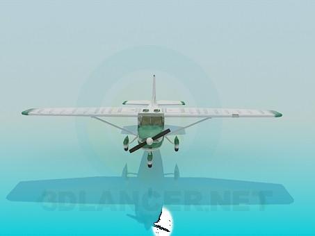 modelo 3D Cessna - escuchar