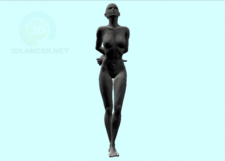 3d model Woman-2 - preview