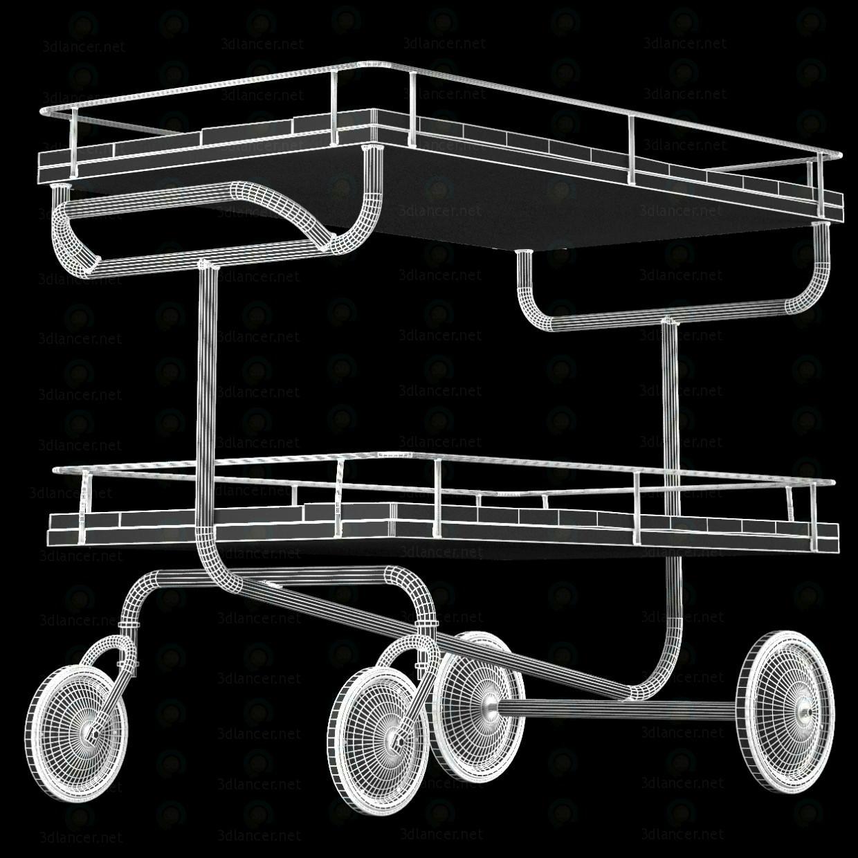 3d Візок для бару Restoration Hardware модель купити - зображення