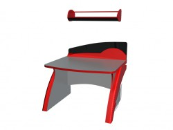 Kids desk with shelf