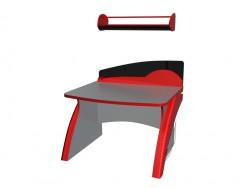 Kinder-Schreibtisch mit Regal