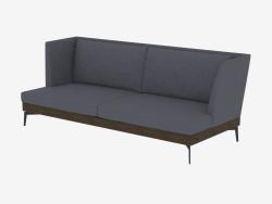 Çift kişilik kanepe düz Div 225