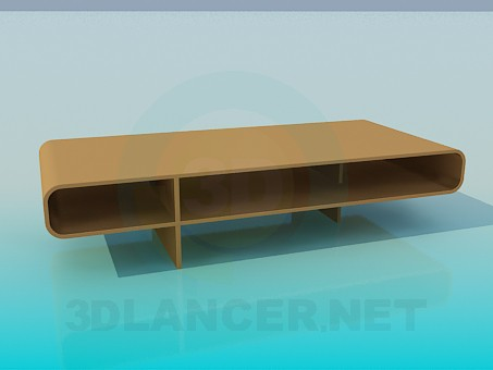 3d модель Підставка під телевізор – превью