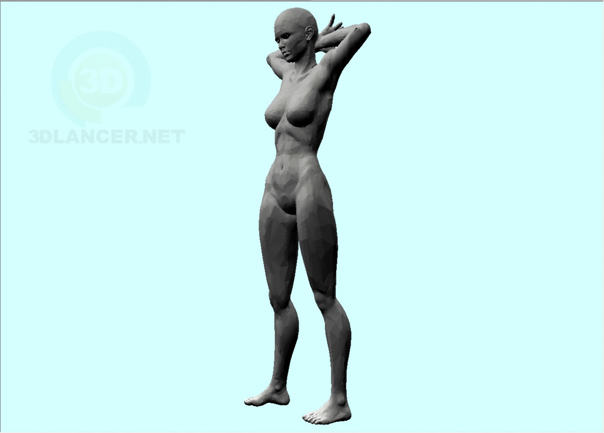 3d modeling woman-3 model free download
