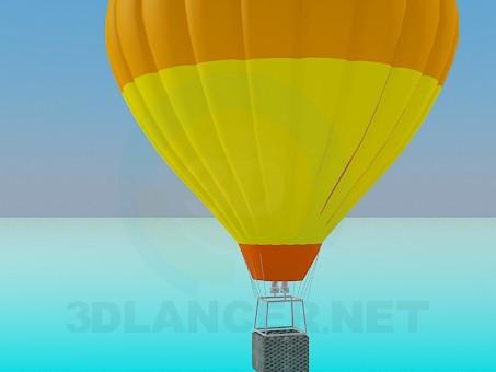 3d модель Воздушный шар – превью