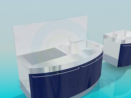 descarga gratuita de 3D modelado modelo Muebles para cocina