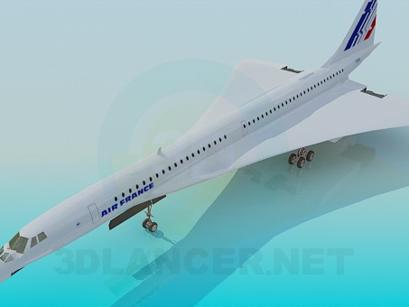 3d model Concord - preview