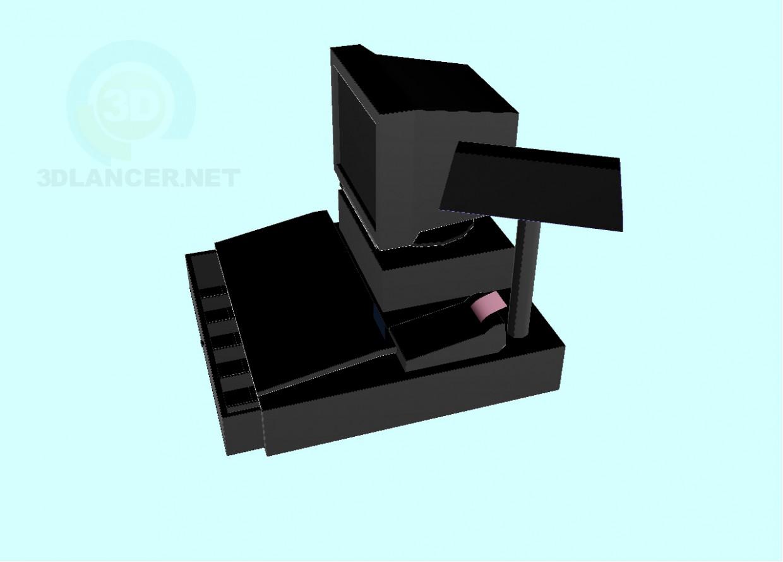 3d model cash mashines - preview