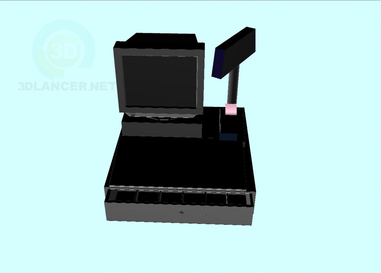 modelo 3D Mashines dinero - escuchar