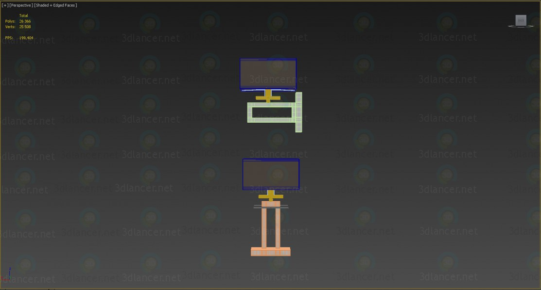 3d model Table lamps and sconces Megapolis Maytoni - preview