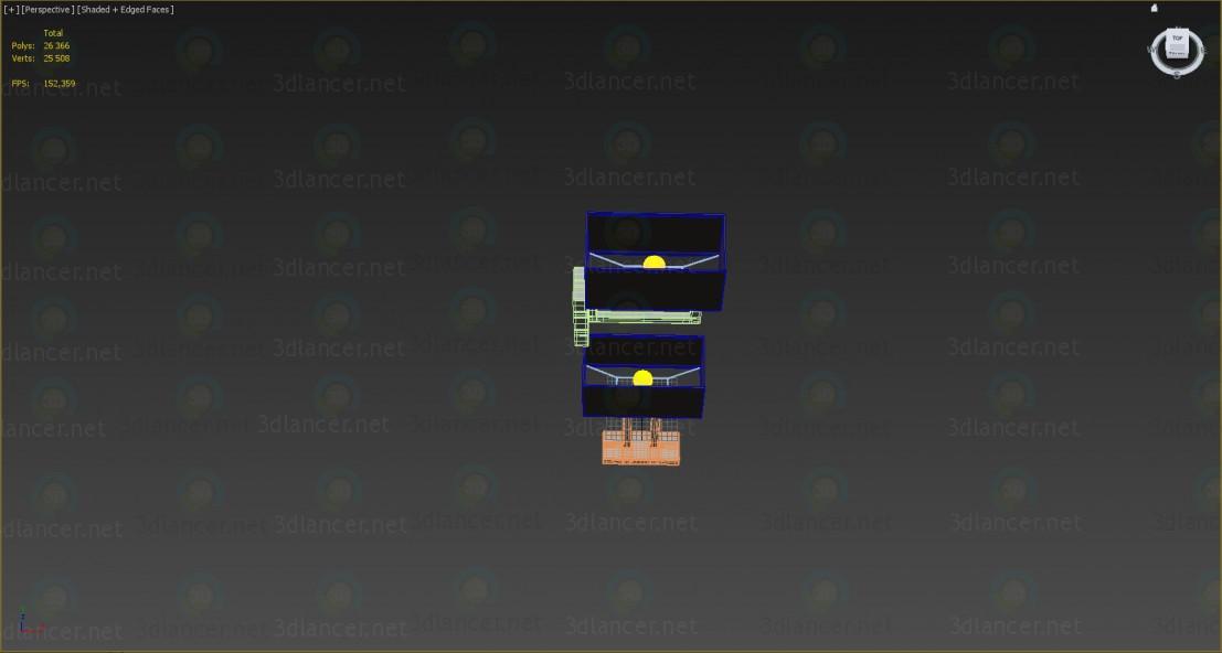3d модель Настільна лампа і бра Megapolis Maytoni – превью