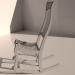 3d Rocking chair. model buy - render