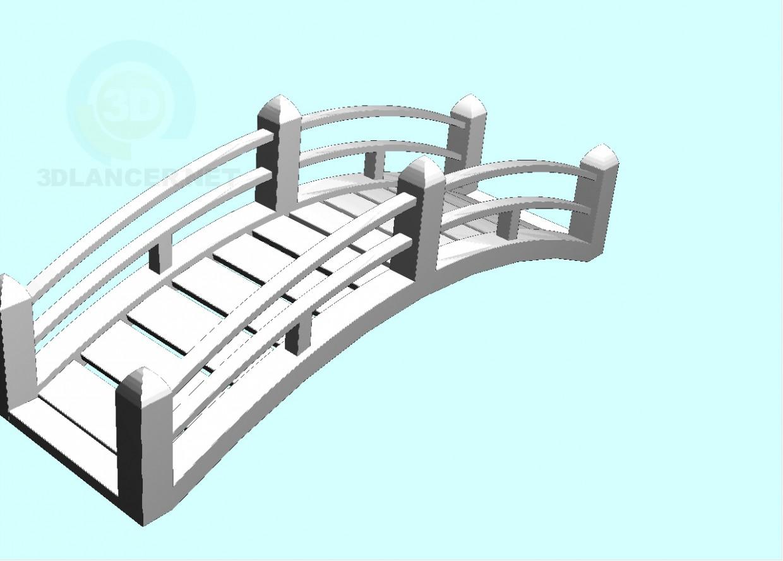 3d модель місток – превью