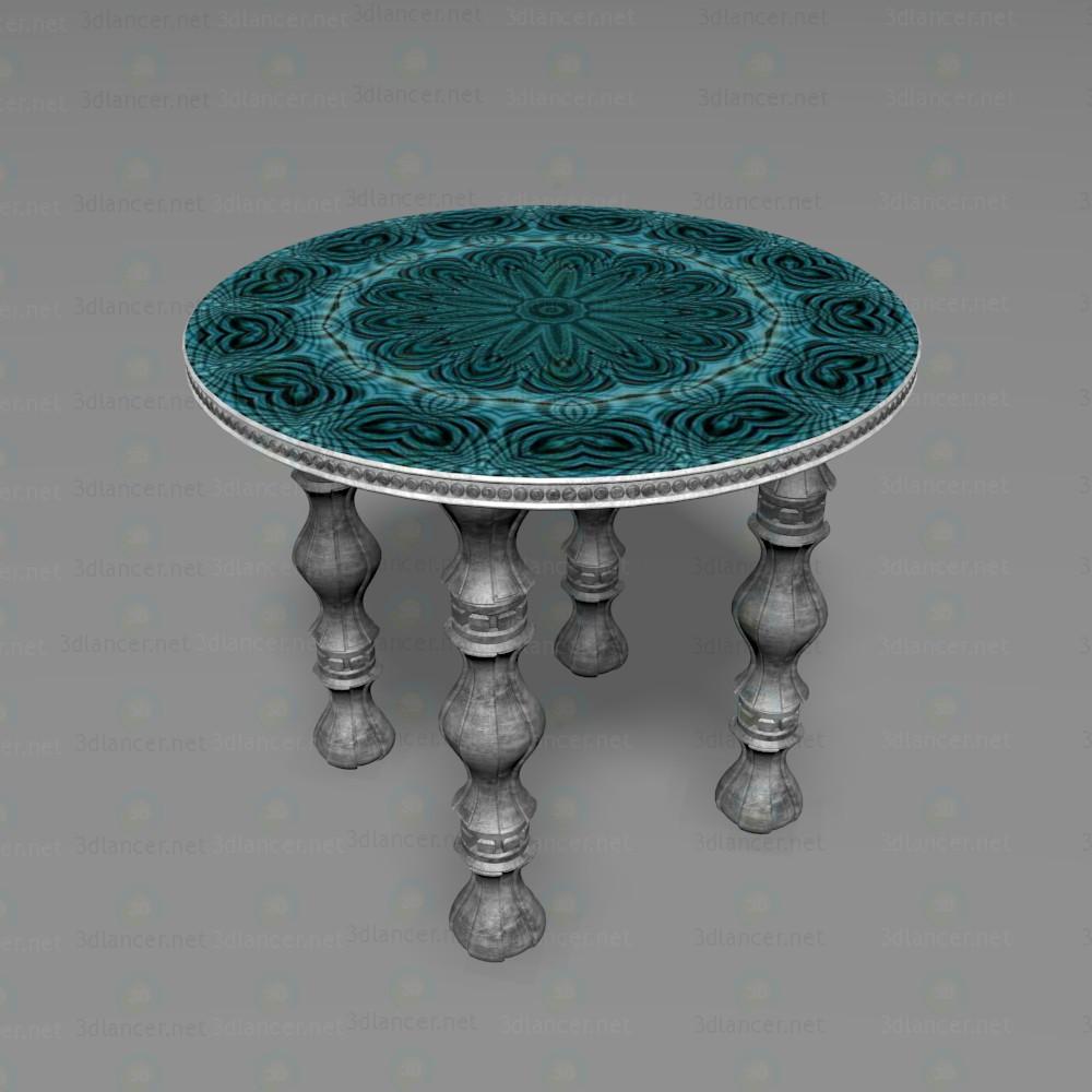 3d Круглий столик модель купити - зображення