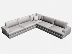 Eckige Sofa Vision