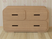 Комод Chest of Drawer 2A от компании Unto This Last