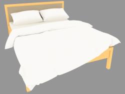Кровать двуспальная 174х214х95 (7230-04)